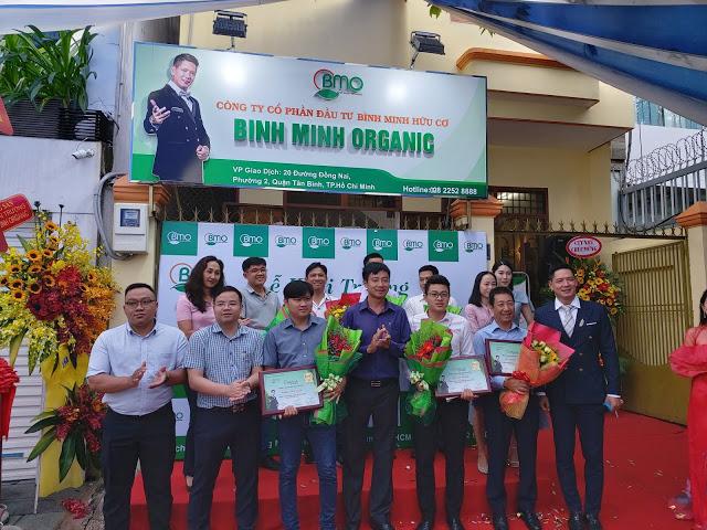 Công ty CP Bình Minh Oganic khai trương trụ sở tại TP. Hồ Chí Minh
